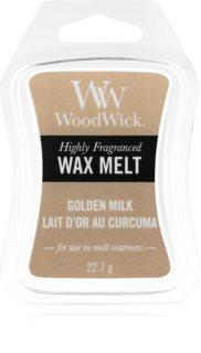 Woodwick Golden Milk восък за арома-лампа