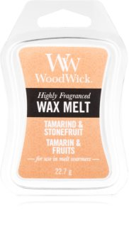 Woodwick Tamarind & Stonefruit cera per lampada aromatica