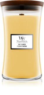 Woodwick Oat Flower duftkerze  mit Holzdocht