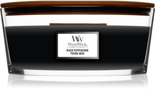 Woodwick Black Peppercorn aроматична свічка з дерев'яним гнітом (hearthwick)