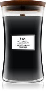 Woodwick Black Peppercorn vela perfumada  con mecha de madera