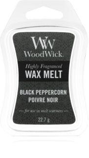 Woodwick Black Peppercorn cera per lampada aromatica