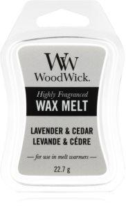 Woodwick Lavender & Cedar ceară pentru aromatizator