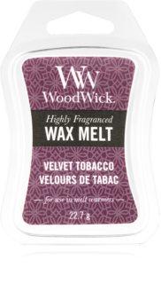 Woodwick Velvet Tobacco κερί για αρωματική λάμπα