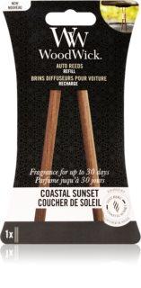Woodwick Coastal Sunset vôňa do auta náhradná náplň