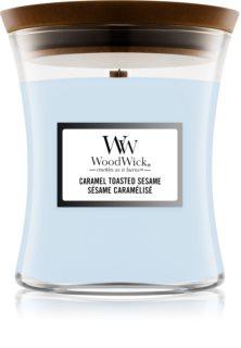 Woodwick Seaside Neroli ароматна свещ  с дървен фитил