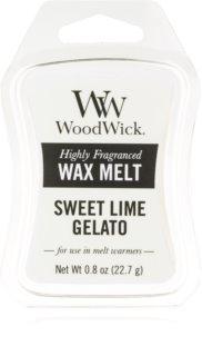 Woodwick Sweet Lime Gelato vosak za aroma lampu