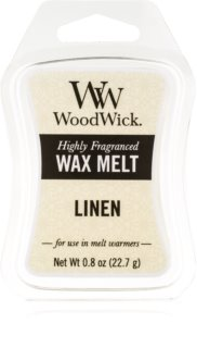 Woodwick Linen vosk do aromalampy