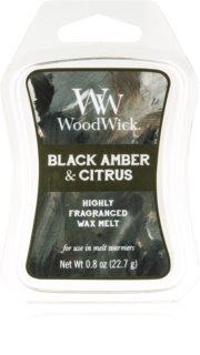 Woodwick Black Amber & Citrus wax melt Artisan 22,7 g