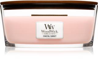 Woodwick Coastal Sunset bougie parfumée avec mèche en bois (hearthwick)