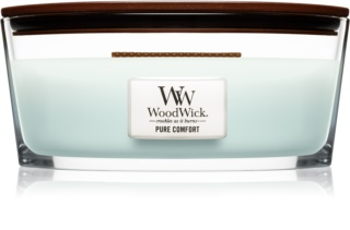 Woodwick Pure Comfort scented candle wooden wick (hearthwick)
