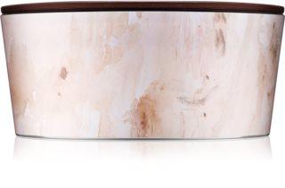 Woodwick Artisan Vanilla Sol dišeča sveča  z lesenim stenjem (hearthwick)