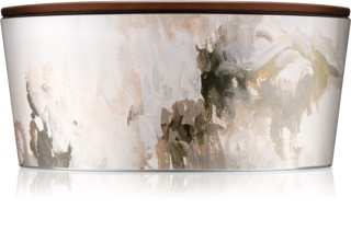 Woodwick Artisan Honey Tabac candela profumata con stoppino in legno (hearthwick)