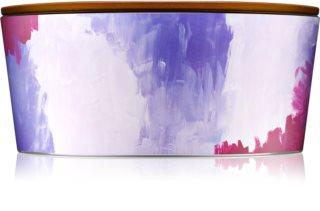 Woodwick Artisan English Lavender candela profumata con stoppino in legno (hearthwick)