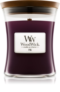 Woodwick Fig scented candle Wooden Wick