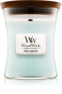 Woodwick Pure Comfort scented candle Wooden Wick