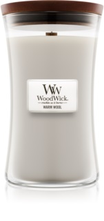 Woodwick Warm Wool scented candle Wooden Wick