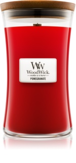 Woodwick Pomegranate Scented Candle 609,5 g Wooden Wick