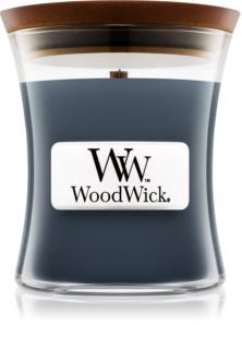 Woodwick Evening Onyx candela profumata con stoppino in legno