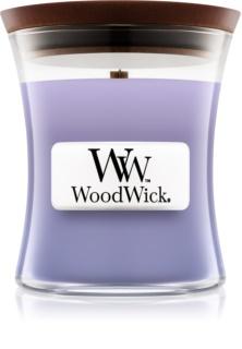Woodwick Lilac duftkerze  mit Holzdocht