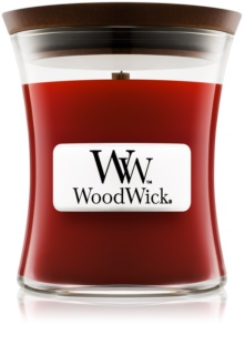 Woodwick Cinnamon Chai scented candle Wooden Wick