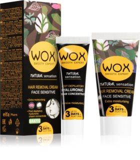 WOX Natural Sensation Enthaarungscreme für das Gesicht