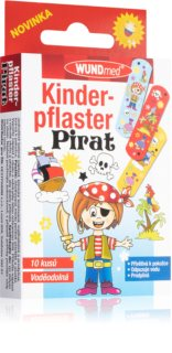 WUNDmed Dětská náplast Piráti barevná dětská náplast