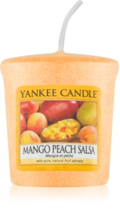 Yankee Candle Mango Peach Salsa votive candle