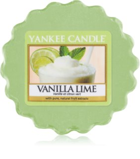 Yankee Candle Vanilla Lime wax melt