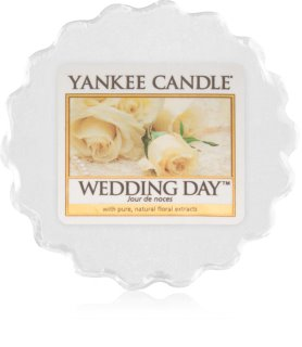 Yankee Candle Wedding Day tartelette en cire