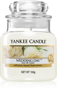 Yankee Candle Wedding Day bougie parfumée