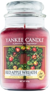 Yankee Candle Red Apple Wreath doftljus Klassisk stor