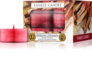 Yankee Candle Sparkling Cinnamon čajová sviečka