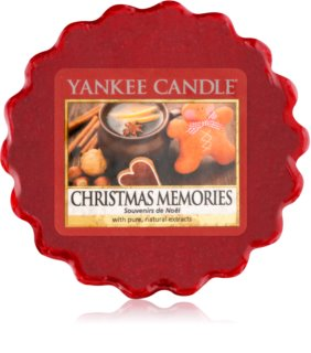 Yankee Candle Christmas Memories duftwachs für aromalampe