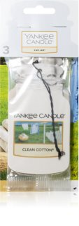 Yankee Candle Clean Cotton fragrance tag