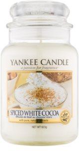 Yankee Candle Spiced White Cocoa vela perfumada Classic grande