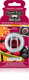Yankee Candle Black Cherry aроматизатор за автомобил с клипс