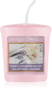 Yankee Candle Honey Lavender Gelato votive candle