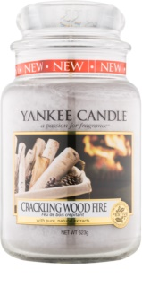 Yankee Candle Crackling Wood Fire geurkaars Classic Large