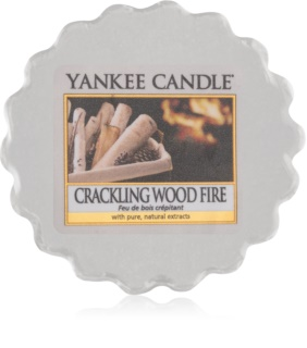 Yankee Candle Crackling Wood Fire κερί για αρωματική λάμπα