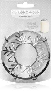 Yankee Candle Twinkling Snowflake couvercle décoratif pour bougie parfumée Classic format grand et moyen