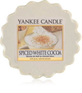 Yankee Candle Spiced White Cocoa wachs für aromalampen