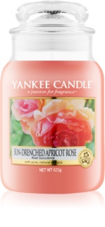 Yankee Candle Sun-Drenched Apricot Rose scented candle Classic Large