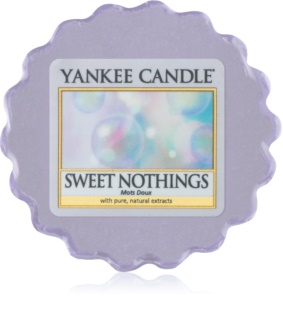Yankee Candle Sweet Nothings tartelette en cire