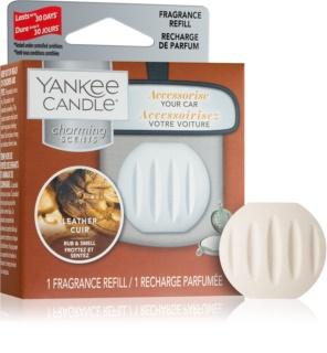 Yankee Candle Leather parfum pentru masina Refil