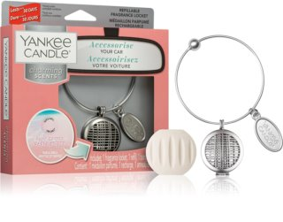 Yankee Candle Pink Sands car air freshener + One Refill (Linear)