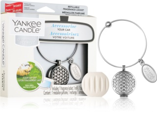 Yankee Candle Clean Cotton Autoduft (Geometric)