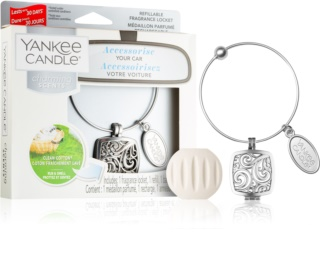 Yankee Candle Clean Cotton ambientador auto II. (Square)