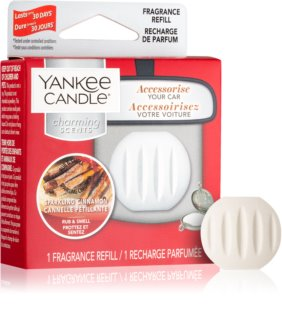 Yankee Candle Sparkling Cinnamon parfum pentru masina Refil