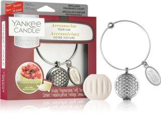 Yankee Candle Black Cherry car air freshener + One Refill Pendant